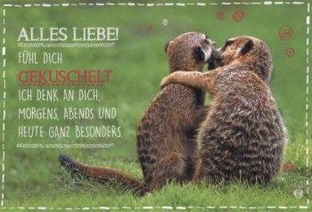 Geburtstagskarte Liebe Und Freundschaft Alles Liebe Geburtstag