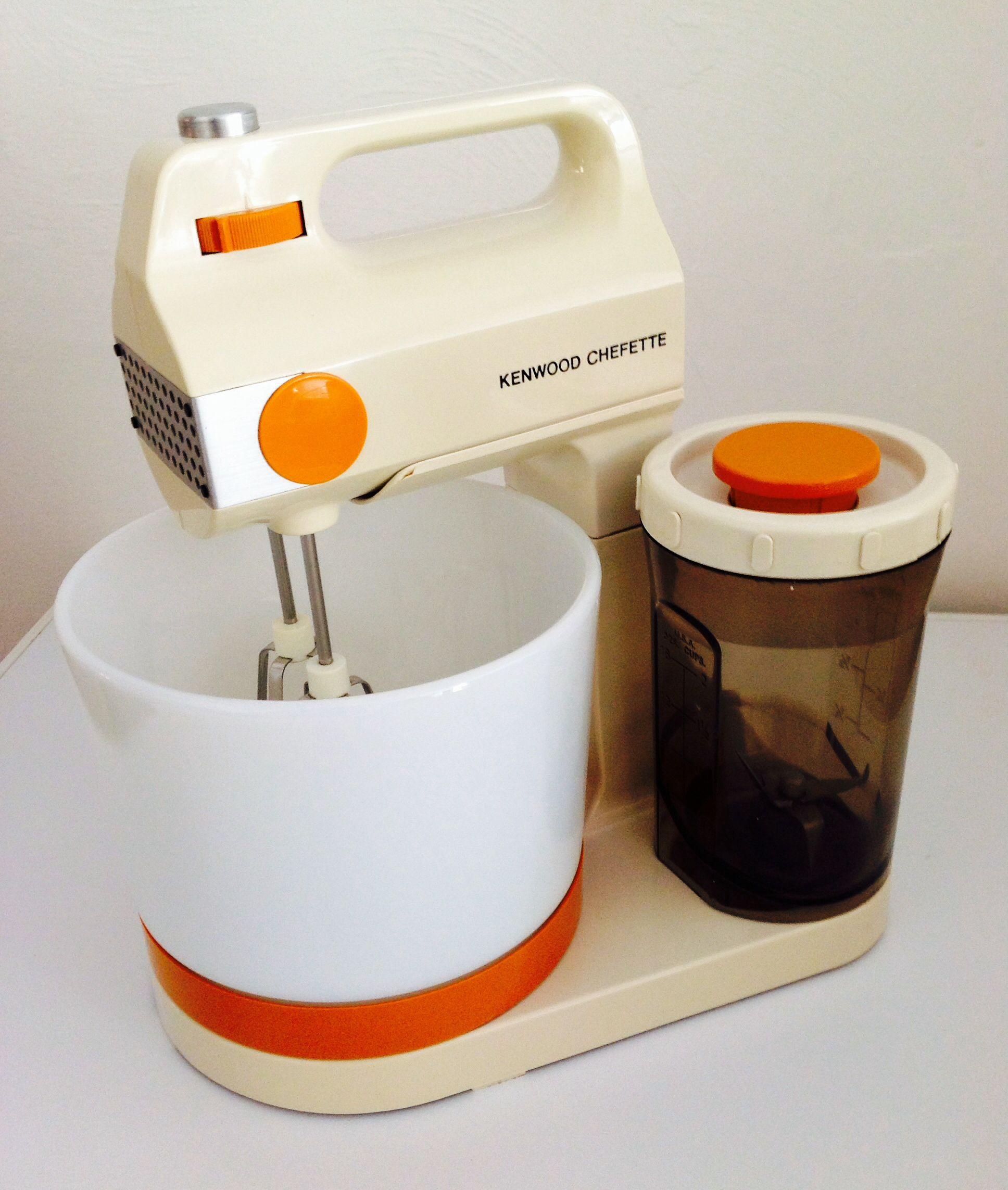 Kenwood Chefette stand/handheld mixer. Kenneth Grange design ...