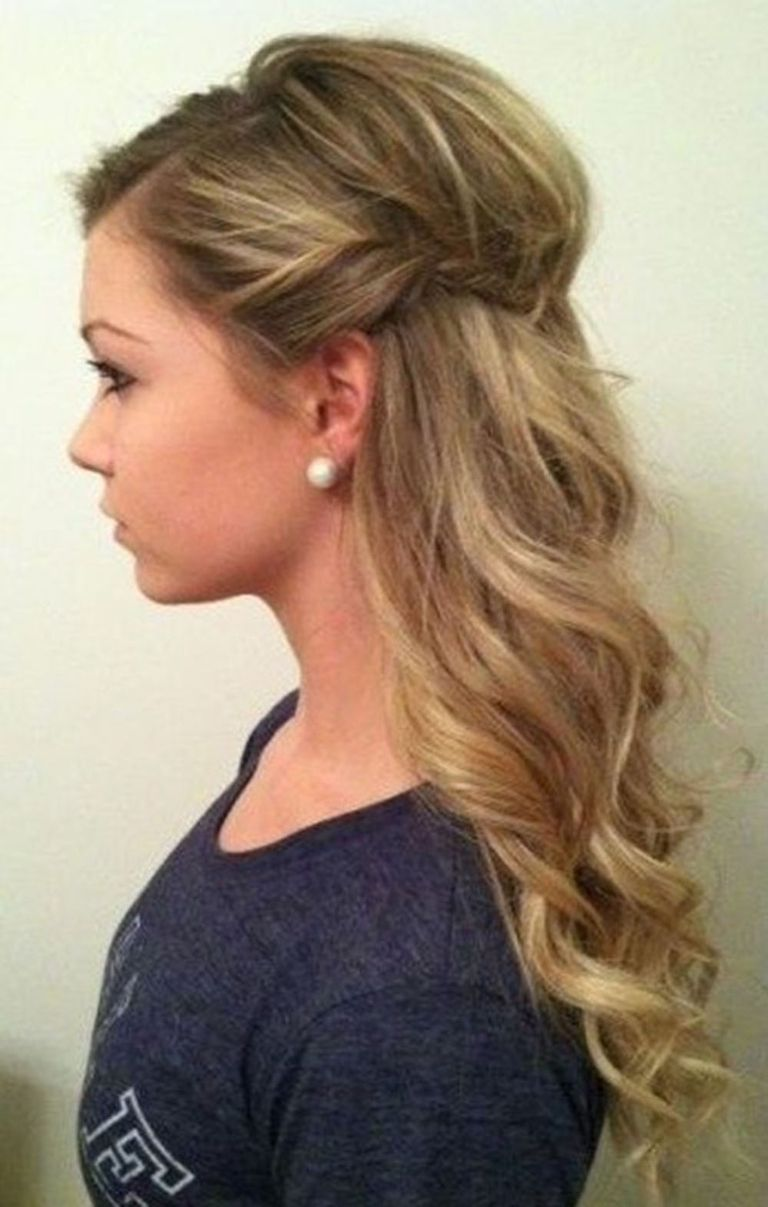 These Are The 5 Most Popular Christmas Party Hairstyles On Pinterest Hair Styles Hair Beauty Bridesmaid Hair