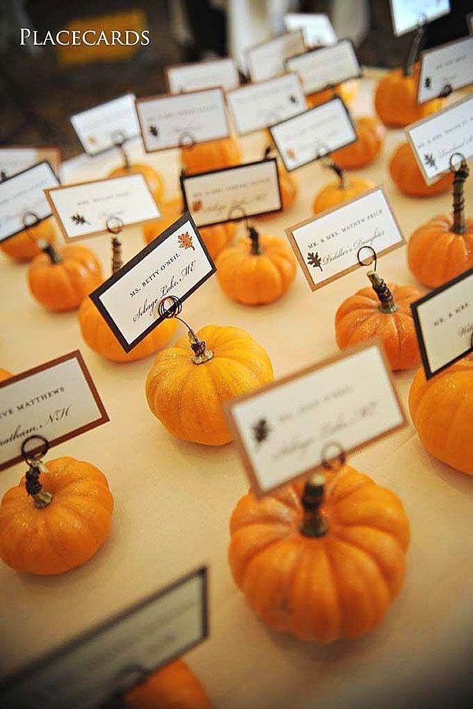 27 Incredible Ideas For Fall Wedding Decor