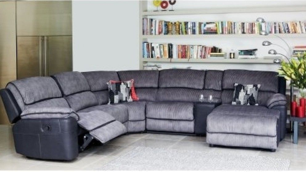 Bourbon Modular Recliner Lounge Suite With Chaise