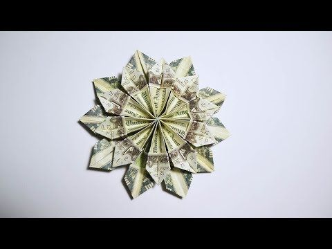 Easy and fast money flower origami 10 dollar bills tutorial diy easy and fast money flower origami 10 dollar bills tutorial diy folded no glue youtube mightylinksfo
