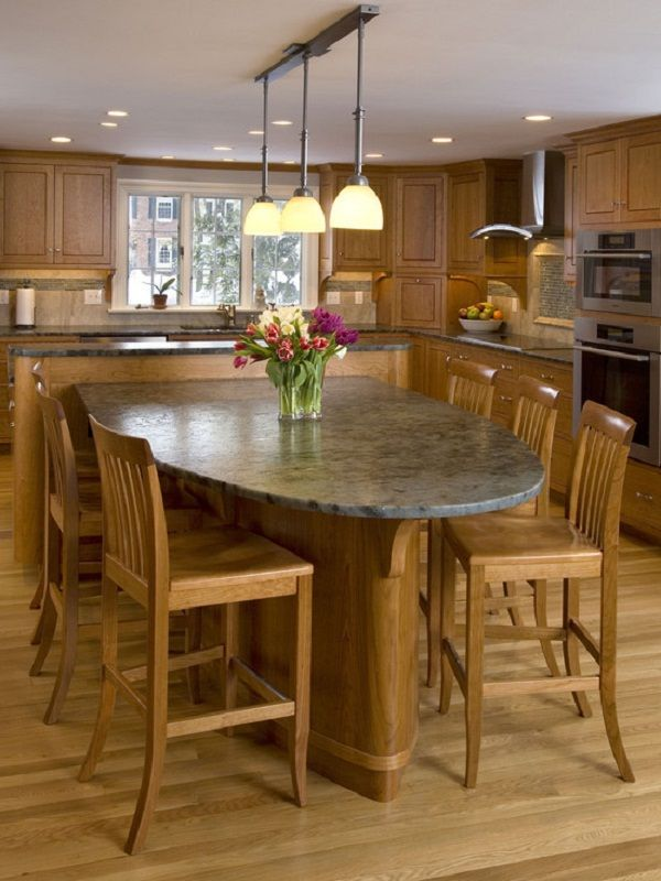 Trying To Find Something A Little Unusual For Your Kitchen Island Designs T Kitchen Island Dining Table Kitchen Island Design Kitchen Island Table Combination