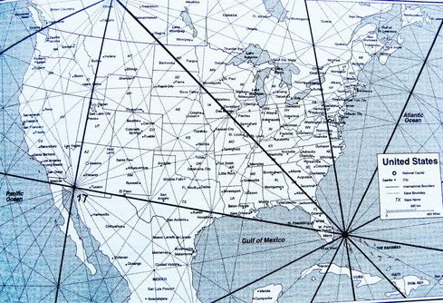 Energy Grid Map Of The United States Earth Vortexes Megaliths - Us-ley-lines-map