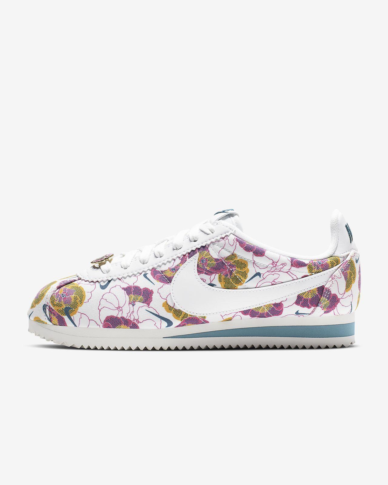 Nike Classic Cortez LX Floral Pinterest