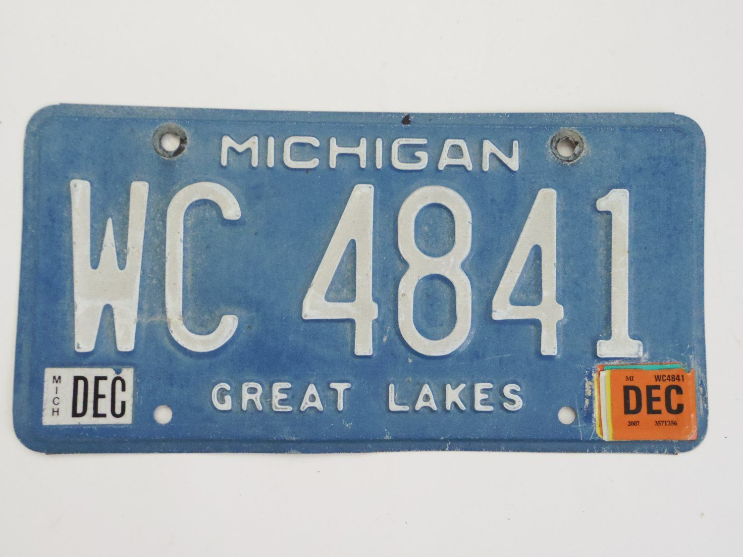 How To Get A New License Plate In Michigan