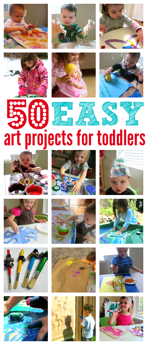 50 easy art projects for toddlers pinterest easy art projects