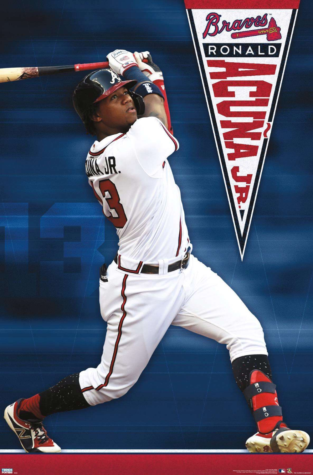 Mlb Atlanta Braves Ronald Acuna Jr In 2020 Braves Atlanta Braves Wallpaper Atlanta Braves