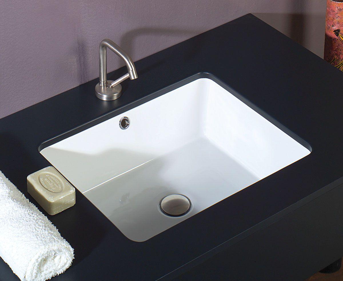 White Stone | Sink 50 | Dbl Glazed Under Counter Basin $397.10 ...