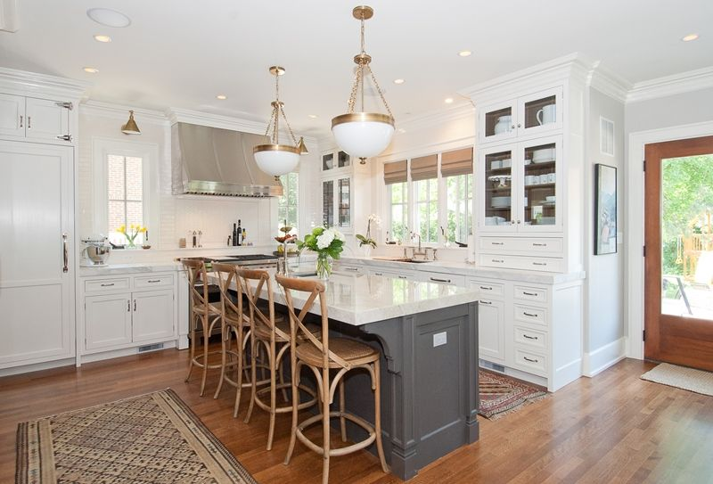 This Is An Expensive Kitchen And A Little More Traditional In The Details  But Just Look