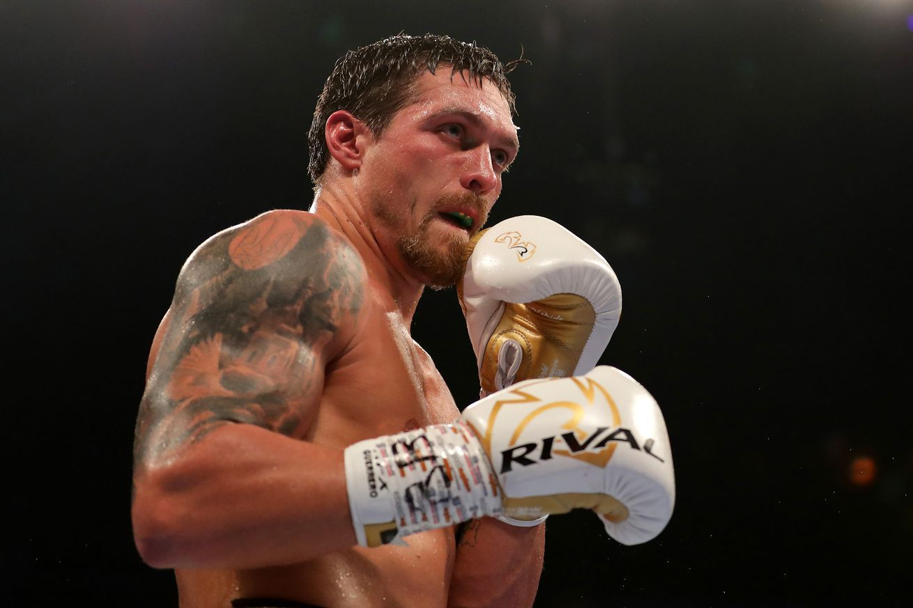 Usyk I Want Deontay Wilder The Most Tyrone Spong Heavyweight Boxing Boxing News