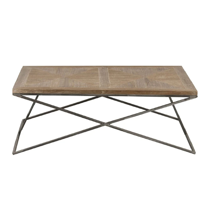 Table Basse Bois Metal Korsa Taille Taille Unique En 2020 Table Basse Bois Table Basse Bois Metal Et Table Basse
