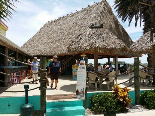 Stump P Tiki Bar And Restaurant Englewood Florida Beach Bradenton