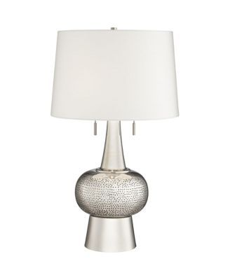Pacific Coast Hammered Polished Nickel Table Lamp Reviews Home Macy S Nickel Table Lamps Polished Nickel Table Lamp