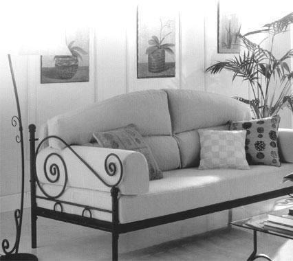 Sillon Sofa Cama En Hierro Forjado Fabrica Oferta | Sofás cama ...
