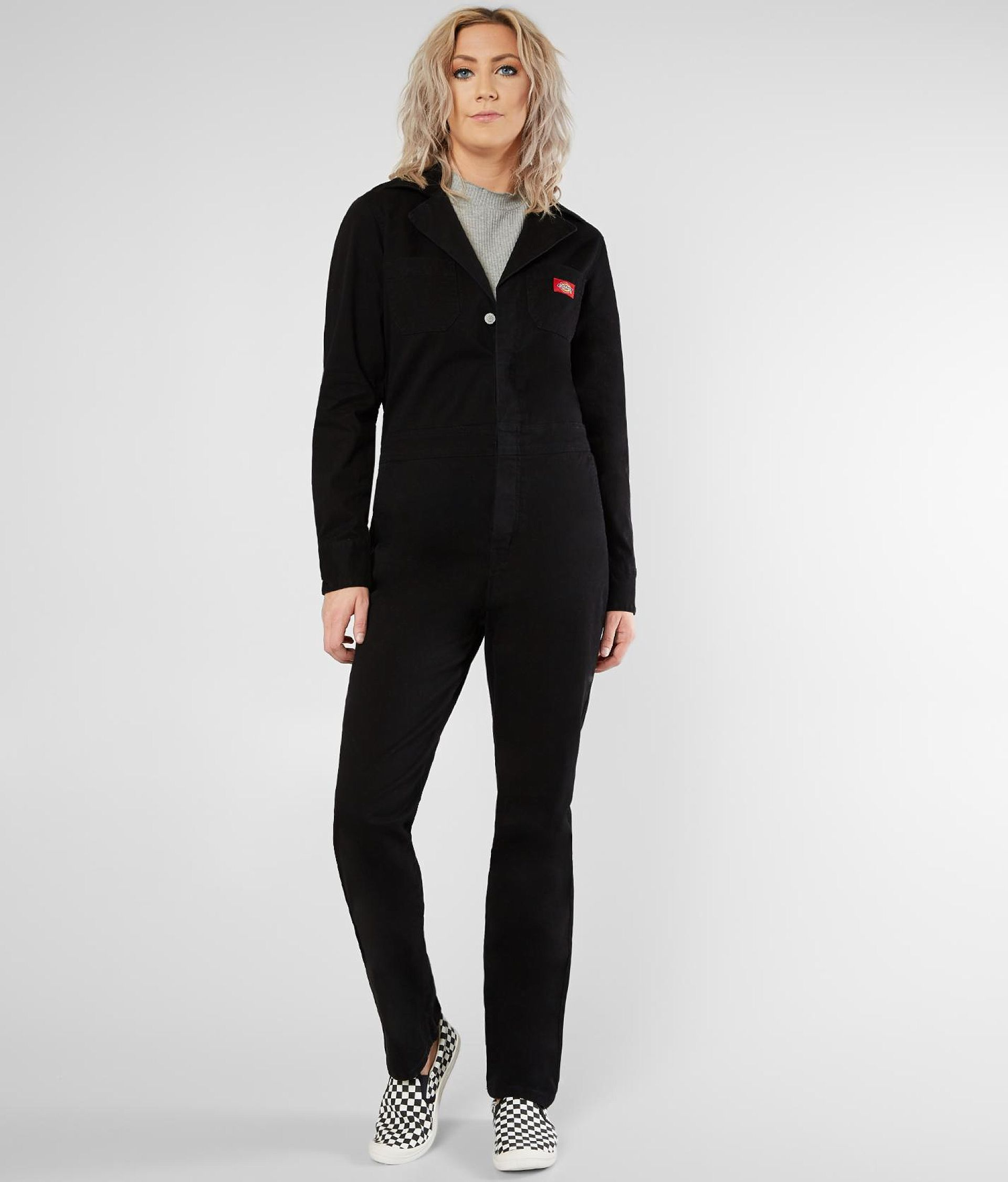a84510aecc6 Dickies Full Length Coveralls - Women s Rompers Jumpsuits in Black ...
