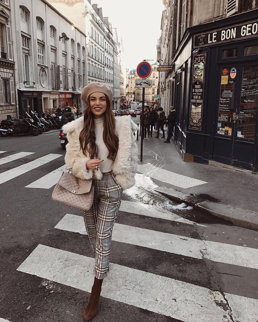 47 Stunning Parisian Street Style Trends 2018 Ideas