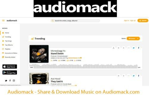 Audiomack Share & Download Music on