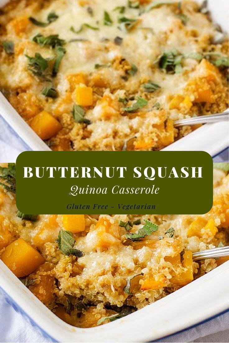Photo of Butternut Squash Quinoa Casserole
