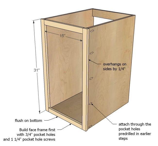 Free Base Cabinet Plans: Pin On Cabinet Plans