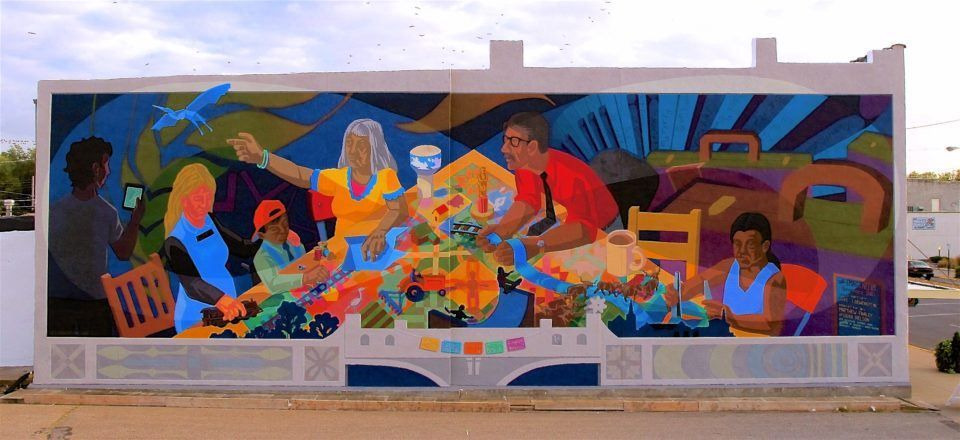 Image result for newton ks mural