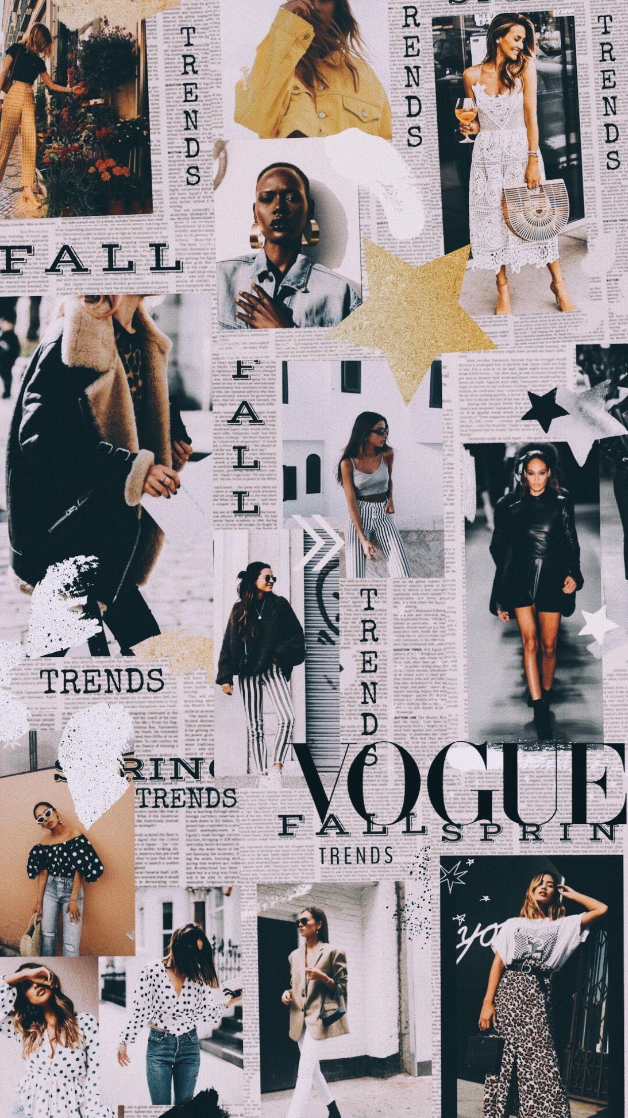 Pin By Kali Bradley On Inspo Fashion Wallpaper Vogue Wallpaper Fashion Collage