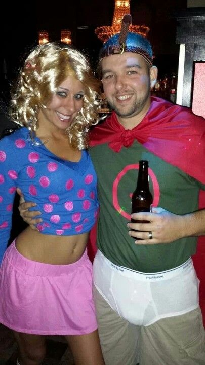 Quail man and Patti Mayonnaise, couples Halloween costume ... Quailman And Patty Mayonnaise Costume