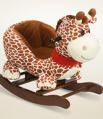 Cute Giraffe Rocker
