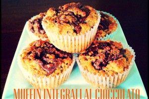 Muffin integrali al cioccolato | Una cucina da single | Pinterest