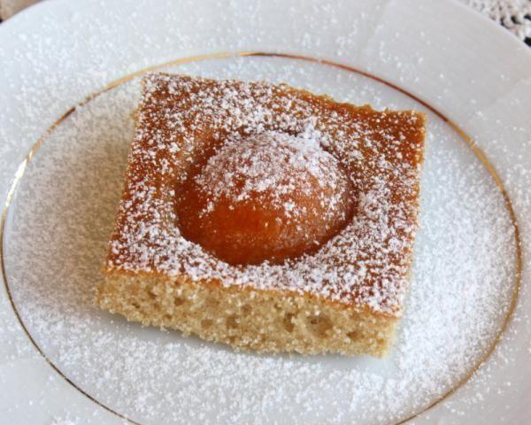 Jogurtový koláč s marhuľami (broskyňami) - Recepty Naničmama.sk