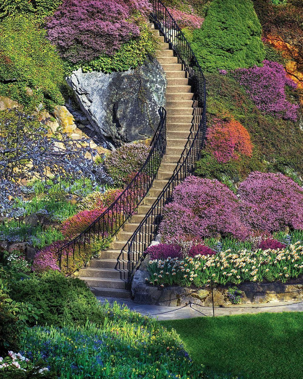 Garden Stairway- 500pc Jigsaw Puzzle