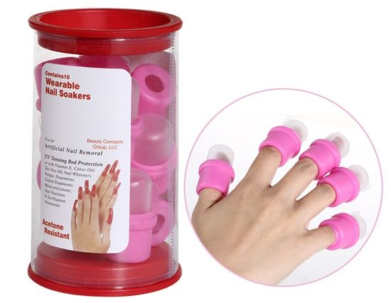 Rubber Acrylic Nail Removal Tool Pink 6 09 With Images Remove Acrylic Nails Nails Acrylic Nails