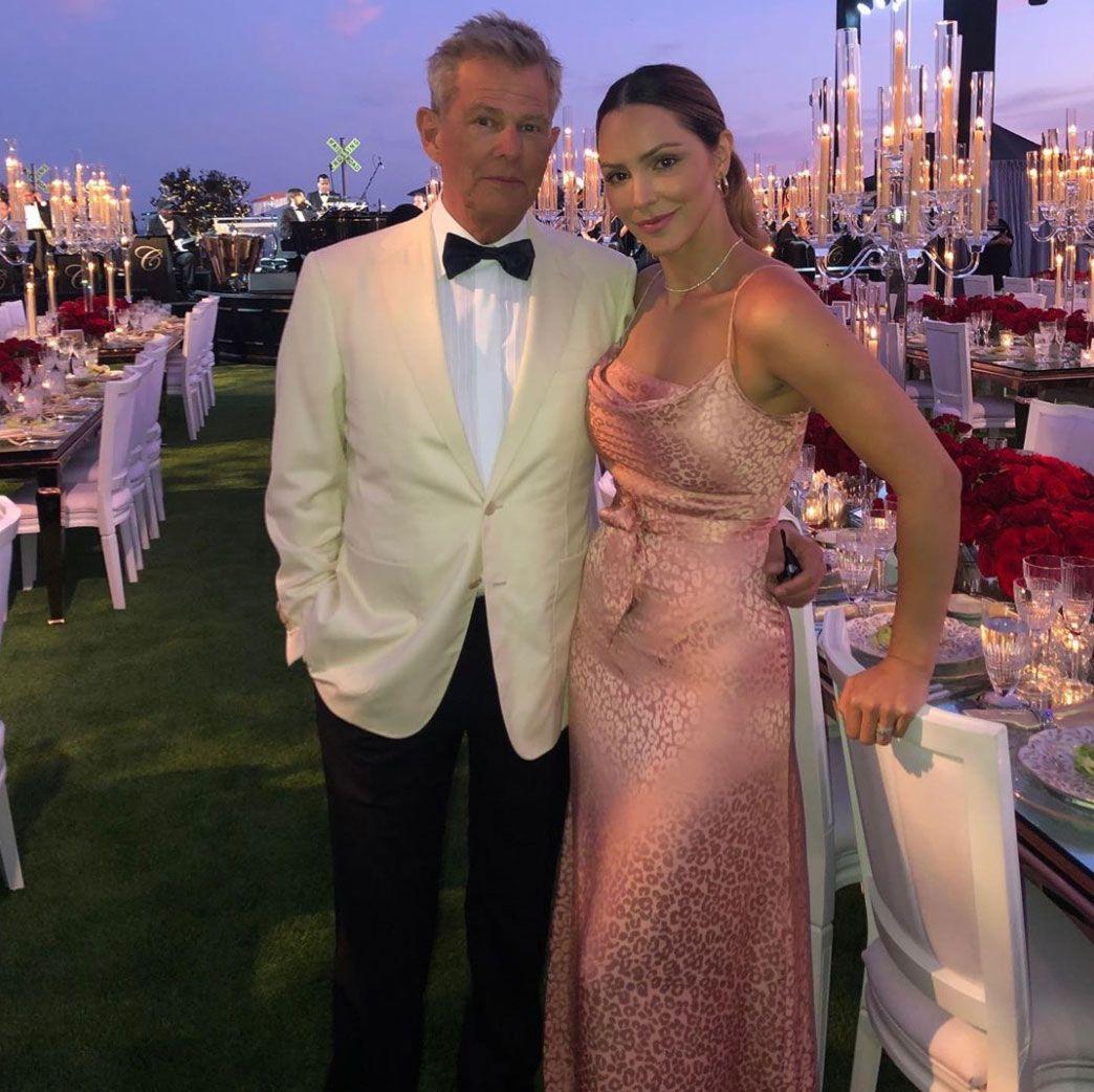 Katharine Mcphee And David Foster Celebrate One Year Wedding Anniversary Here S To The Future In 2020 David Foster Daughters Celebrities The Fosters