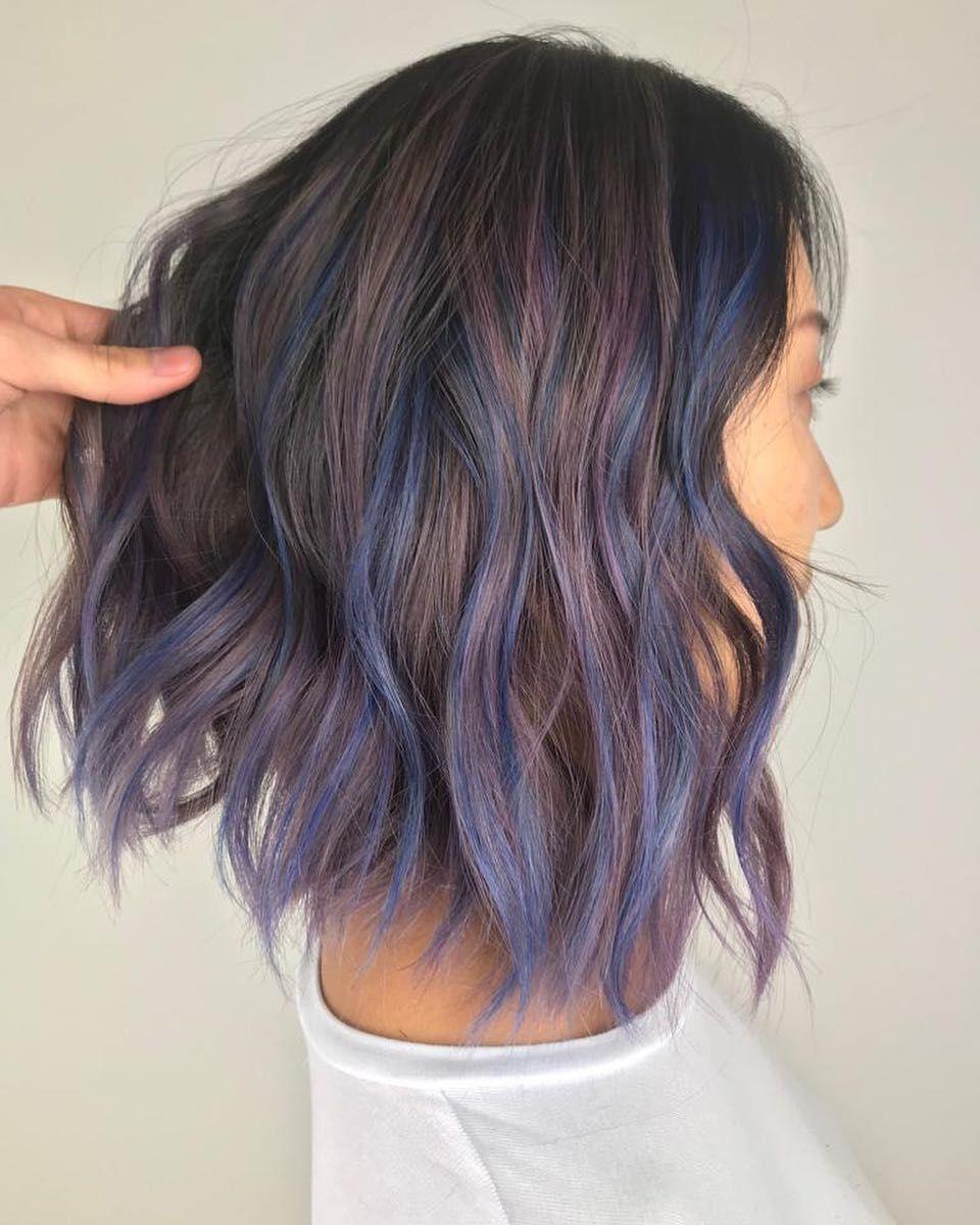موضة قصات و صبغات شعر 2019 الوان صبغات شعر 2019 Fashion Hairstyles And Dyes 2019 Colors Hair D Lavender Hair Colors Lavender Hair Lilac Hair Color