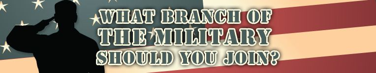 is the military for me? which branch of the military