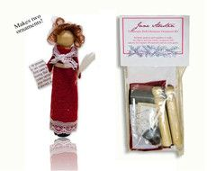 Clothespin Doll Kit: Jane Austen
