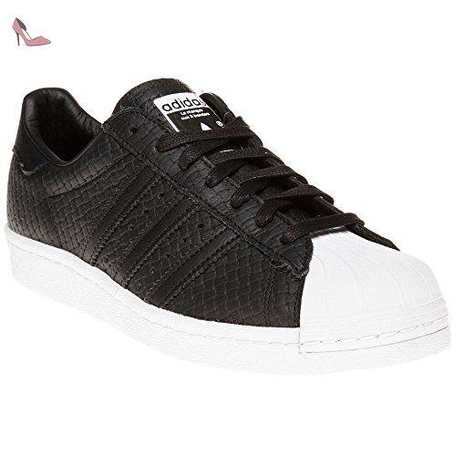Adidas Superstar 80's Woven Homme Baskets Mode Noir