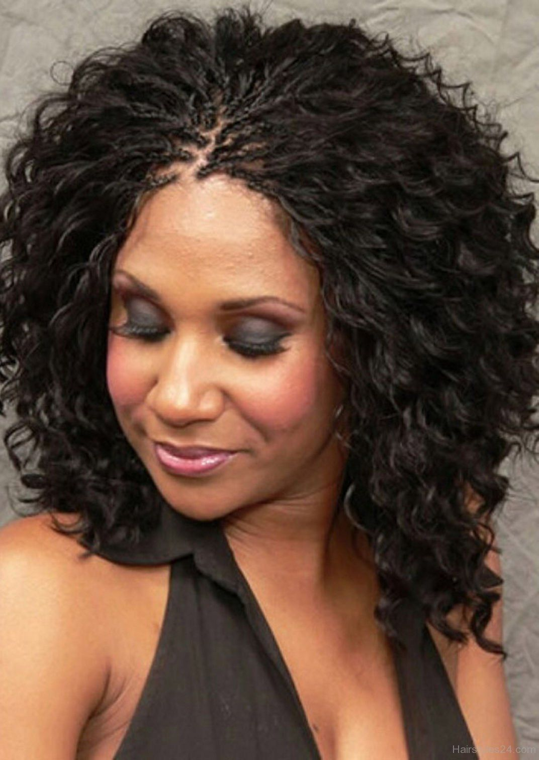 hair styles curls micro braids hairstyles wavy fade haircut 7365