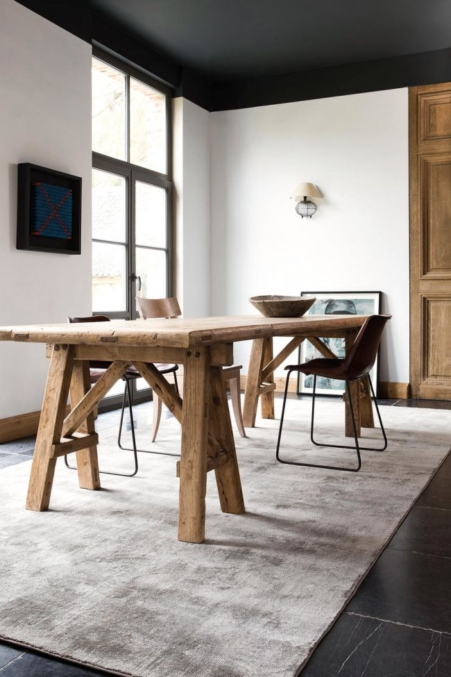 Comment Choisir Son Tapis Salle A Manger Dining Room