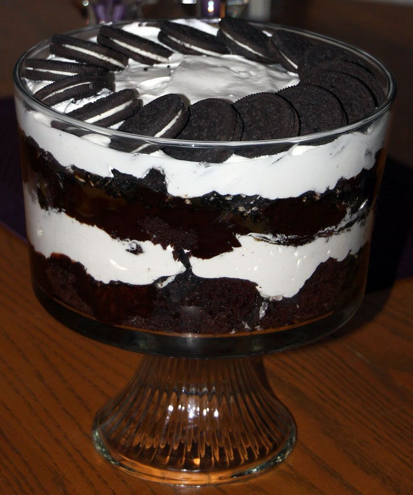 Trifle Bowl Recipes: The 25+ Best Trifle Bowl Desserts Ideas On Pinterest