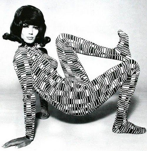 Simone d'Aillencourt, Hamburg 1967 by F.C. Gundlach