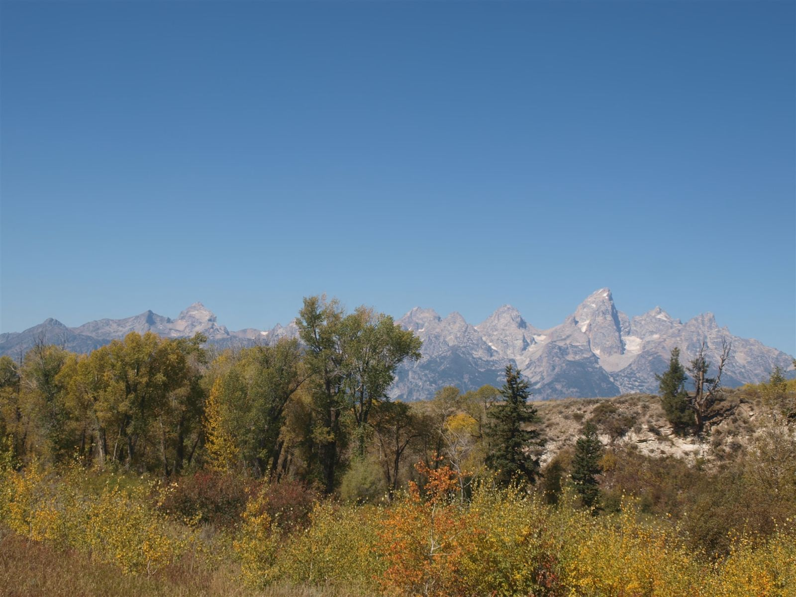 September 12, 2015 View From Tetons Science Center, Grand