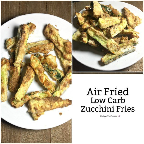 These Air Fried And Low Carb Zucchini Fries Are So