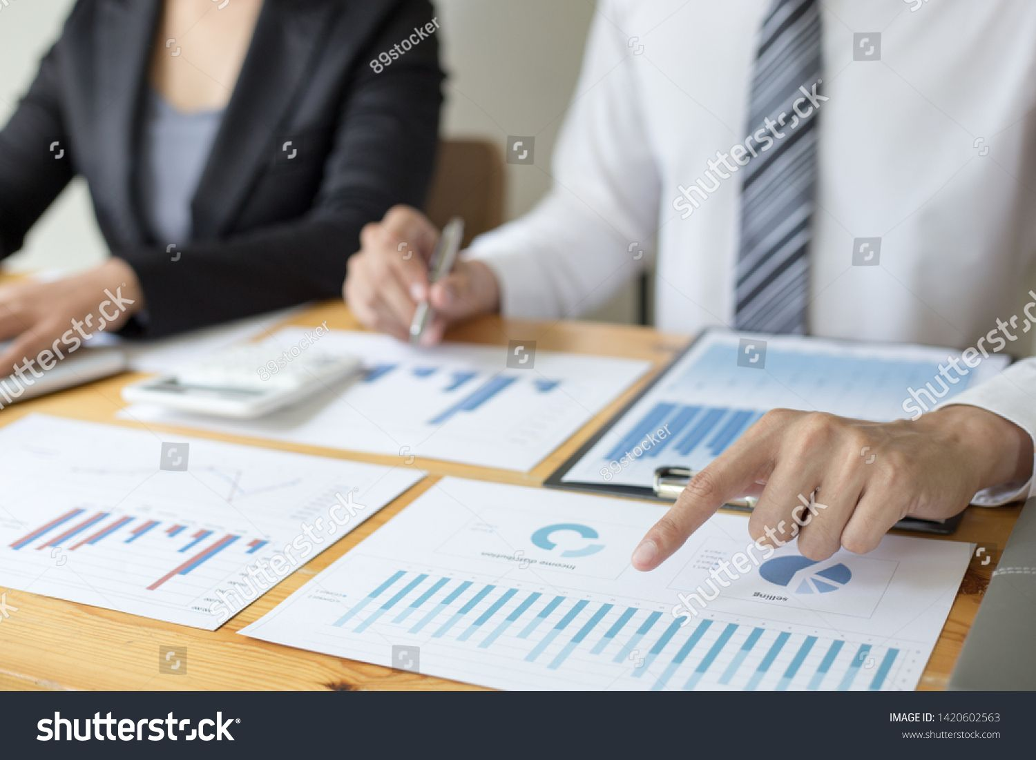 Managers and accountants have checked the company's
