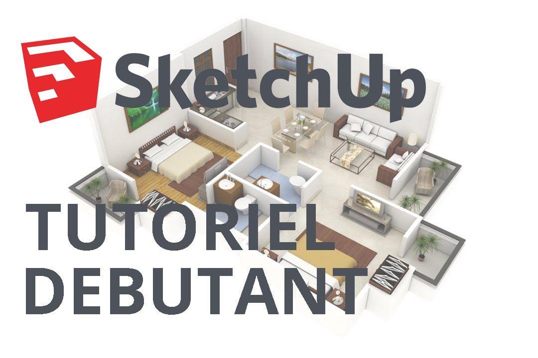 SketchUp 2016 - Tutoriel pour débutant COMPLET maison de poupée