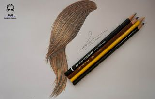 تعلم رسم الشعر للمبتدئين وطريقة تلوينه Http Ift Tt 2syaoyq تعلم الرسم بألوان خشب دورة الرسم بالألوا How To Draw Hair Color Pencil Art Step By Step Hairstyles