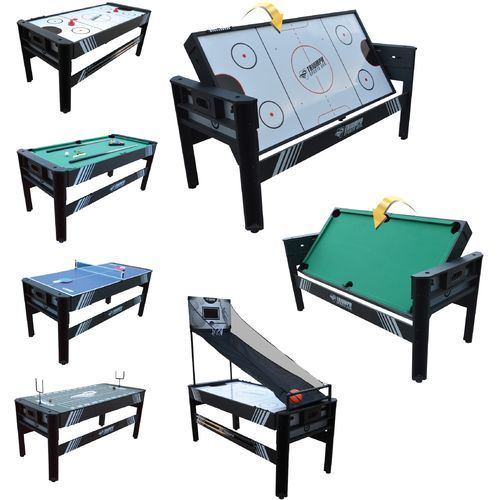 Good Triumph Sports USA 5 In 1 6u0027 Rotating Game Table Academy