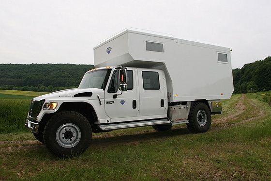 International Mxt 4x4 Overland Vehicles Expedition Truck