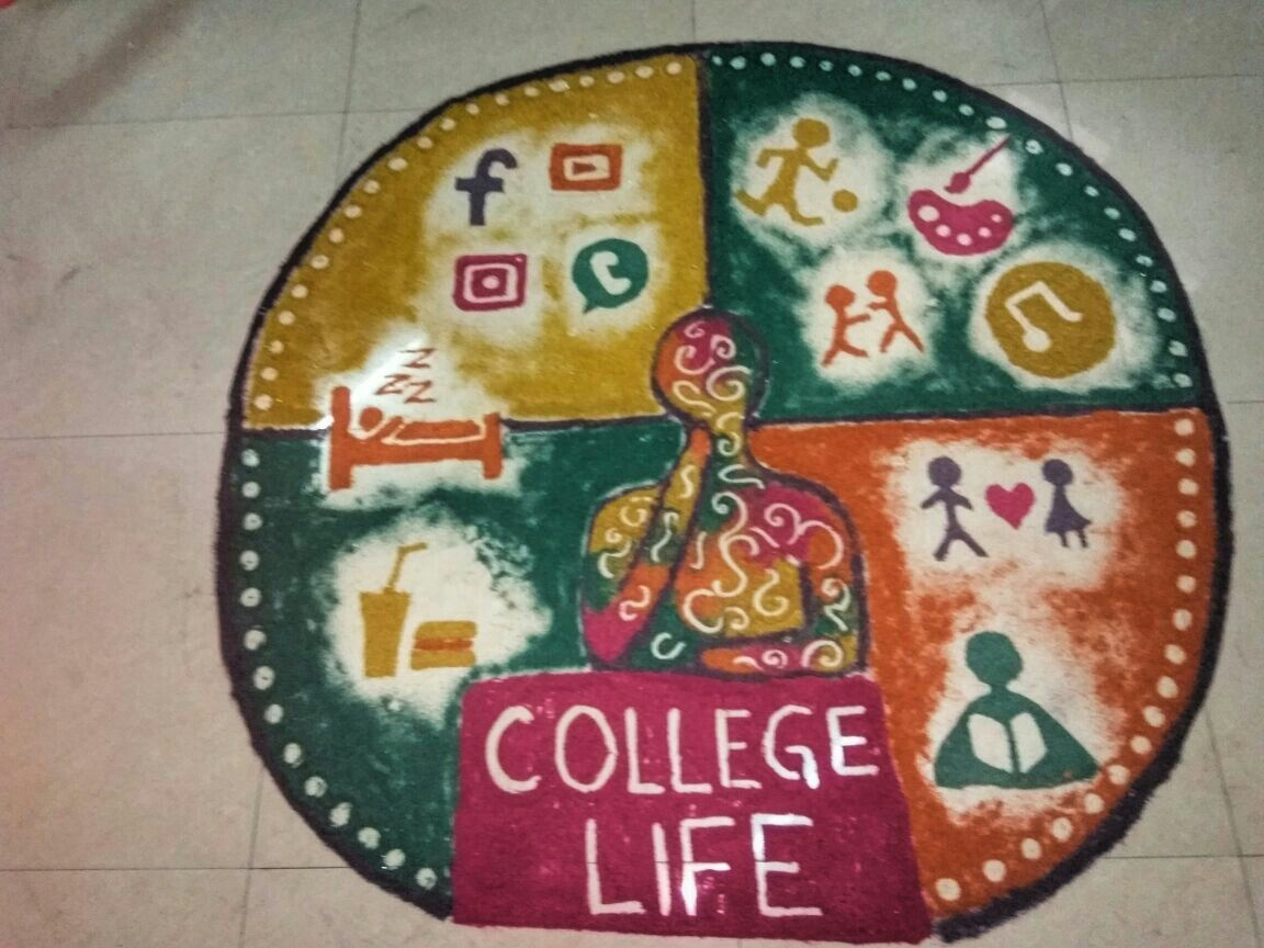 Theme Based Rangoli Rangoli Designs Rangoli Designs For Competition Colorful Rangoli Designs