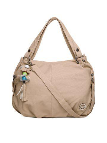 Lino Perros Women Peach Handbag Myntra Via